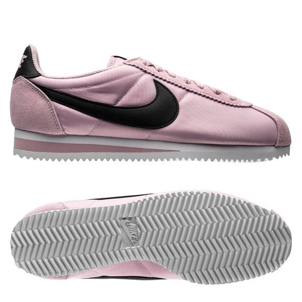 sneakers for cheap c7057 c8445 Nike Classic Cortez Nylon - Pink/Black/White Woman