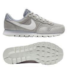 nike air pegasus 83 skind - grå/hvid - sneakers