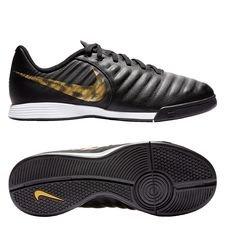 Nike Tiempo Legend 7 Academy IC Black Lux - Svart/Guld Barn