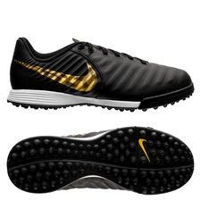 Nike Tiempo Legend 7 Academy TF Black Lux - Zwart/Goud Kinderen