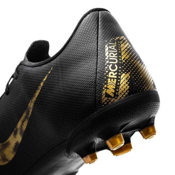 Nike Mercurial Vapor 12 Academy MG Black Lux NoirDoré