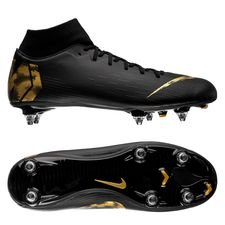 Nike Mercurial Superfly 6 Academy SG-PRO - Sort/Guld