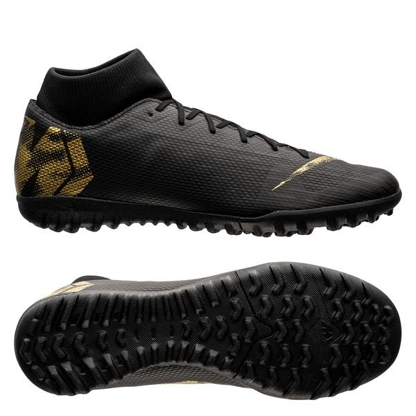 new arrival 0a7cc 1a16d Nike Mercurial Superfly 6 Academy TF Black Lux - Black/Metallic Vivid Gold