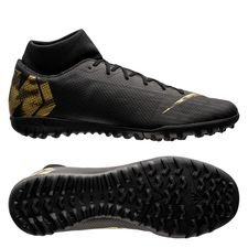 Nike Mercurial Superfly 6 Academy TF Black Lux - Zwart/Goud <br/>EUR 66.95 <br/> <a href='https://tc.tradetracker.net/?c=16158&amp;m=747978&amp;a=209129&amp;r=unisport&amp;u=https%3A%2F%2Fwww.unisportstore.nl%2Fvoetbalschoenen%2Fnike-mercurial-superfly-6-academy-tf-black-lux-zwartgoud%2F181268%2F' target='_blank'>Bekijk!</a>