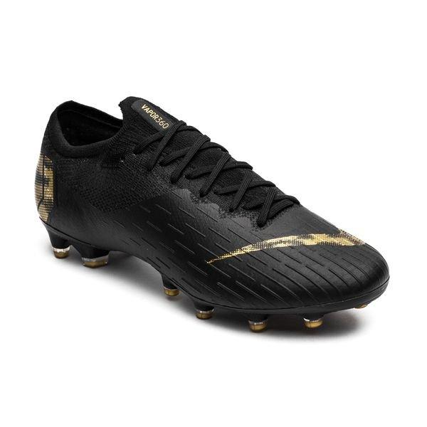 new arrival 7c330 92ef7 Nike Mercurial Vapor 12 Elite AG-PRO Black Lux - Black/Metallic Vivid Gold