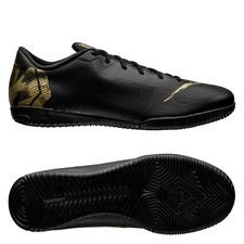 Nike Mercurial Vapor 12 Academy IC Black Lux - Svart/Guld
