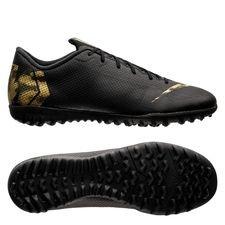 Nike Mercurial VaporX 12 Academy TF Black Lux - Svart/Guld