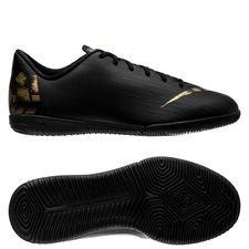 Nike Mercurial Vapor 12 Academy IC Black Lux - Svart/Guld Barn