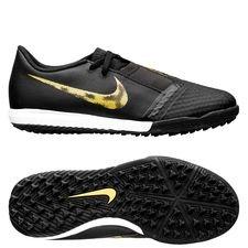 Nike Phantom Venom Academy TF Black Lux - Svart/Guld Barn