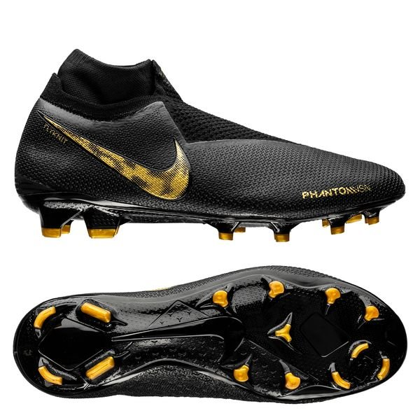 e881b904ae22 269.95 EUR. Price is incl. 19% VAT. -25%. Nike Phantom Vision Elite DF FG  Black Lux - Black/Metallic Vivid Gold