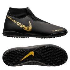 Nike Phantom Vision Academy DF TF Black Lux - Zwart/Goud