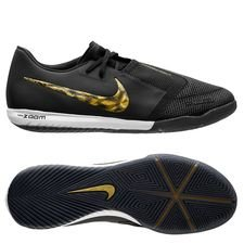 Nike Phantom Venom Zoom Pro IC - Sort/Guld