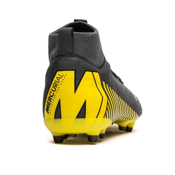 brand new nice shoes authentic quality Nike Mercurial Superfly 6 Academy MG Game Over - Gris/Jaune Enfant