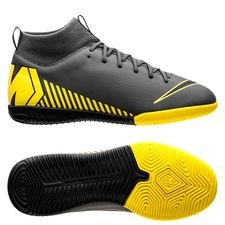 official photos fd2e6 1cf51 Nike Mercurial Superfly 6 Academy IC Game Over - Grå Gul Barn