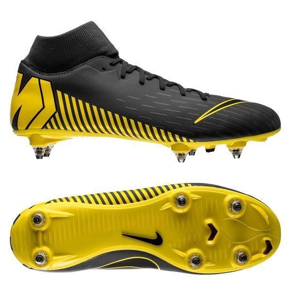new concept 9bc2b f1ab6 Nike Mercurial Superfly 6 Academy SG-PRO Game Over - Dark Grey/Yellow