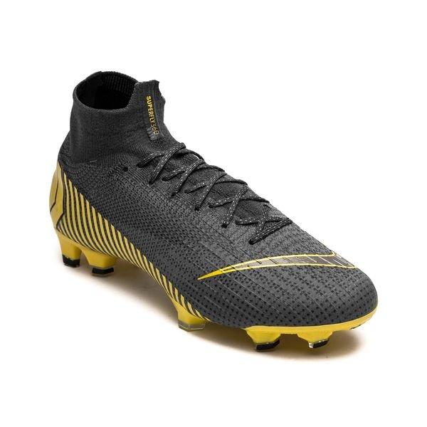 9da86fdd16d ... nike mercurial superfly 6 elite fg game over - thunder grey yellow -  football boots ...