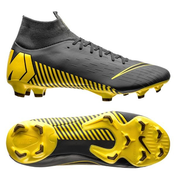 wholesale dealer 7e5a9 7a514 Nike Mercurial Superfly 6 Pro FG Game Over - Dark Grey/Yellow