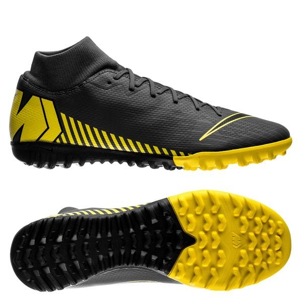 newest new lifestyle new arrival Nike Mercurial Superfly 6 Academy TF Game Over - Dark Grey/Yellow