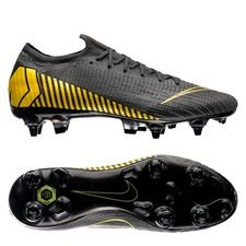Nike Mercurial Vapor 12 Elite SG-PRO Anti-Clog Game Over - Thunder Grey/Geel