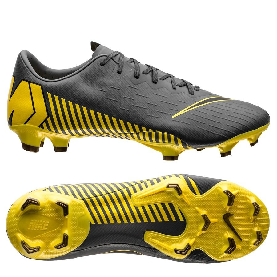 purchase cheap cfbd9 3b501 Nike Mercurial Vapor 12 Pro FG Game Over - Dark Grey/Yellow