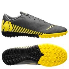 Nike Mercurial VaporX 12 Academy TF Game Over - Grå/Gul