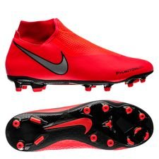 hot sales 9b79a 018cc Nike Phantom Vision Academy DF MG Game Over - Bright Crimson Metallic Silver