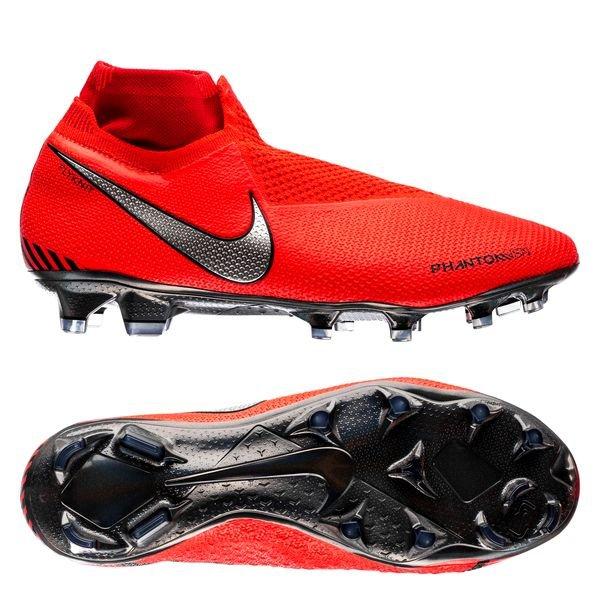 low priced e3429 b4c4a Nike Phantom Vision Elite DF FG Game Over - Bright Crimson/Metallic Silver