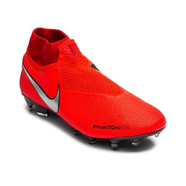 c3a57128519 Nike Phantom Vision Elite DF FG Game Over - Bright Crimson Metallic Silver