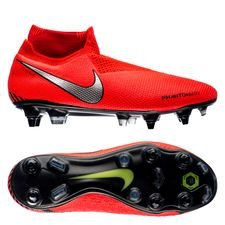 nike phantom vision elite df sg-pro anti-clog game over - bright crimson/metallic silver - football boots
