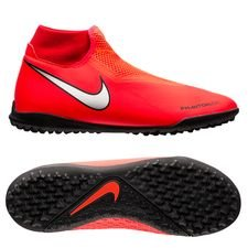 Nike Phantom Vision Academy DF TF Game Over - Rood/Zilver