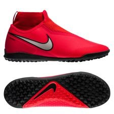 pretty nice 0f5d4 eea04 Nike Phantom Vision React Pro DF TF Game Over - Rouge Argenté