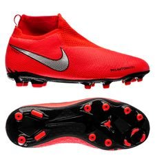 Nike Phantom Vision Elite DF MG Game Over - Rood/Zilver Kinderen
