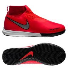 Nike Phantom Vision Academy DF IC Game Over - Rood/Zilver Kinderen