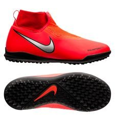 big sale 092df 819d4 Nike Phantom Vision Academy DF TF Game Over - RoodZilver Kinderen