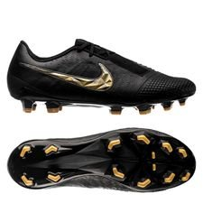 Nike Phantom Venom Elite FG Black Lux - Schwarz/Gold