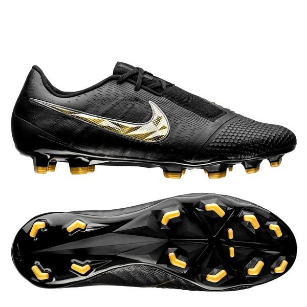 premium selection 028d0 ab293 Nike Phantom Venom Elite FG Black Lux - Black/Metallic Vivid Gold