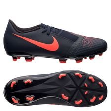 Nike Phantom Venom Academy FG Fully Charged - Navy/Zwart Kinderen