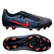 Nike Phantom Venom Elite FG Fully Charged - Navy/Zwart Kinderen