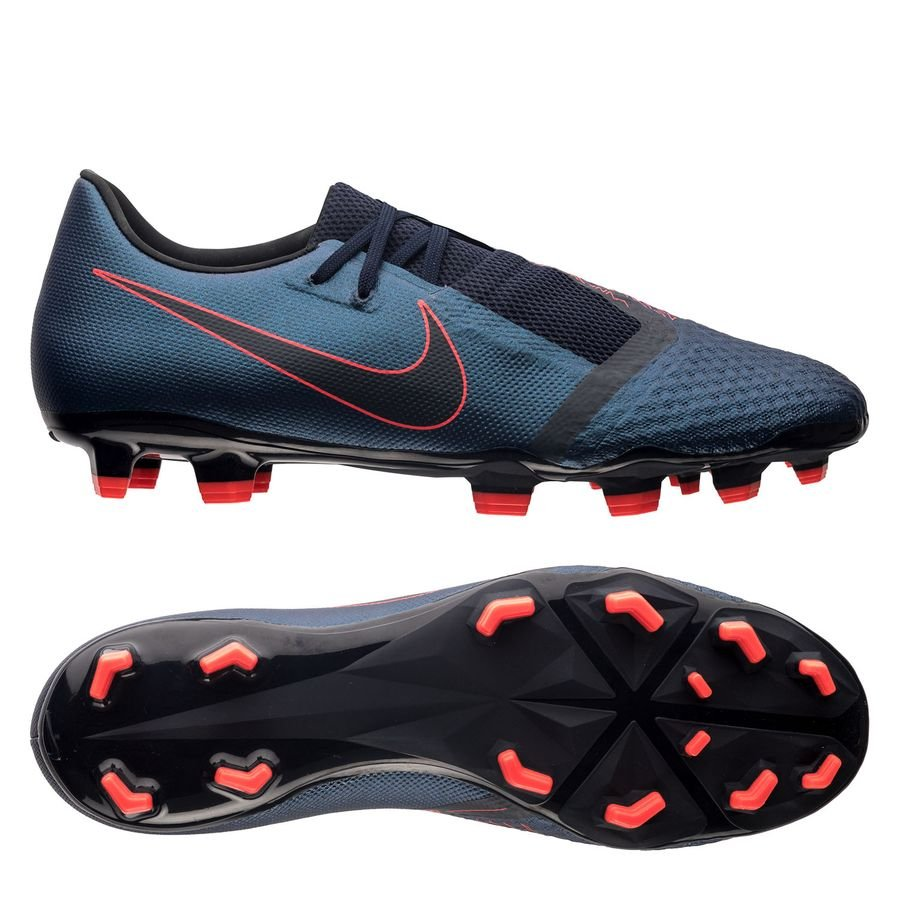 Nike Phantom Venom Academy FG Fully Charged - Navy/Sort