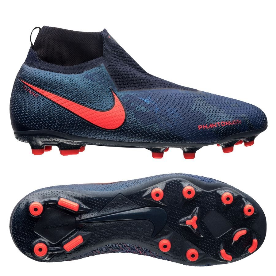 quality design abce3 4ef6b nike phantom vision elite df mg fully charged - bleu foncénoir enfant -  chaussures ...