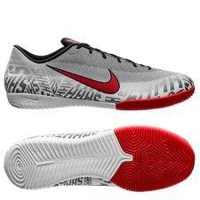 Nike Mercurial Vapor 12 Academy IC NJR Silêncio - Vit/Röd/Svart