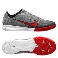 Nike Mercurial Vapor 12 Pro IC NJR Silêncio - Vit/Röd/Svart