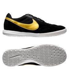Nike Premier II Sala IC - Svart/Guld/Vit
