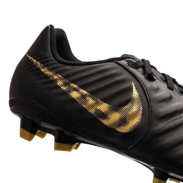 872610dd054 Nike Tiempo Legend 7 Academy FG Black Lux - Black Metallic Vivid Gold