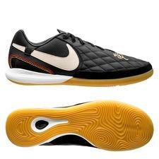 Nike Tiempo LegendX 7 Pro IC 10R Dois Golaços - Black/Lite Orewood/Metallic Gold