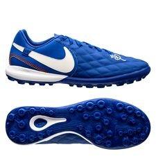 Nike Tiempo LegendX 7 Pro TF 10R Dois Golaços - Blauw/Wit