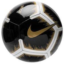 Nike Fotboll Pitch Black Lux - Svart/Vit/Guld