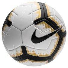 Nike Fotboll Strike Black Lux - Vit/Svart/Guld