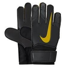 Nike Keepershandschoenen Match Game Over - Grijs/Zwart/Geel Kinderen
