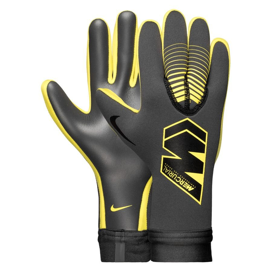 big sale 97dd4 0995c Nike Goalkeeper Gloves Mercurial Touch Victory Game Over -  Anthracite/Black/Opti Yellow